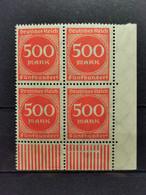 Deutsche Reich Mi-Nr. 272 WU ER **MNH Postfrisch - Ungebraucht