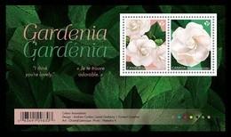 Canada 2019 Mih. 3707/08 (Bl.285) Flora. Flowers. Gardenia MNH ** - Ongebruikt