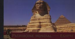 Nations Unies - Geneve - Carnet - C531 - Patrimoine Mondial - Egypte - Cote 43€ - Markenheftchen