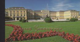 Nations Unies - Vienne - Carnet - C290 - Patrimoine Mondial - Chateau De Schonbrunn - Cote 43€ - Markenheftchen