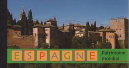 Nations Unies - Geneve - Carnet - C417 - Patrimoine Mondial - Espagne - Cote 32€ - Markenheftchen