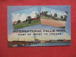 International Falls  Minnesota > Port Of Entry To Canada ----     Ref 4453 - Zonder Classificatie