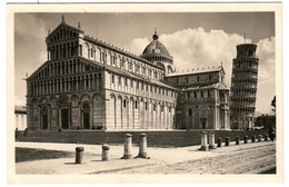 6BK 340. PISA - DUOMO CAMPANILE - Pisa