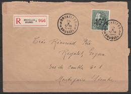 """L. Recommandée Affr. N°724E Càd """"BRUXELLES 5G/25 X 1948"""" Pour MONTIGNIES-sur-SAMBRE - 1946 -10 %"""