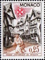 Monaco Poste N** Yv: 552 Mi:668 Ordre Souverain De Malte - Unused Stamps