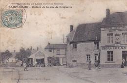 VILAOUT20-  SAINT ERME  DANS L'AISNE  ENTREE DE LA RUE DE BRIQUERIE   CPA  CIRCULEE RARE - Other Municipalities