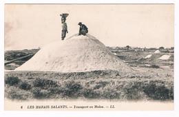 Cpa - LES MARAIS SALANTS - TRANSPORT AU MULON - 6666  BEA - Otros