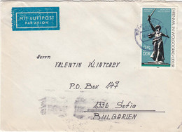 "DDR-047/1984 - 35 Pf. - Mi-Nr. 2830 - Ehrenmal In Wolgograd/UdSSR, Monument ""Mutter Heimat"" - Covers & Documents"