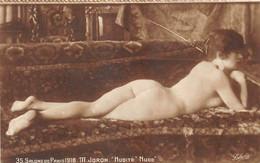 "ILLUSTRATEUR - M. JORON - ""NUDITE"" - FEMME - NU FEMININ - SALONS DE PARIS 1918 - Andere Illustrators"