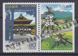 Japan - Japon 2001 Yvert 3038a-39a, Views Of Nagano - From Booklet - MNH - Nuevos