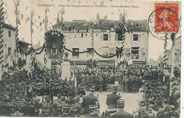 Commercy Fetes Inauguration 27 Octobre Statue Docteur Denis . 1907 - Inaugurazioni