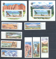 Kyrgyzstan 1995 Natural Wonders Of The World MNH - Kirghizstan