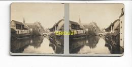 Photo Stéréoscopique Sur Carton, N ° 4, Chartres, 1917 - Stereoscopic
