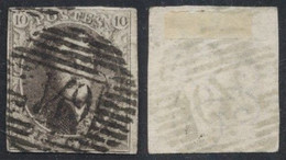 "Médaillon - N°6 Margé Obl P149 ""Solre-S-Sambre"". - 1851-1857 Medaillons (6/8)"