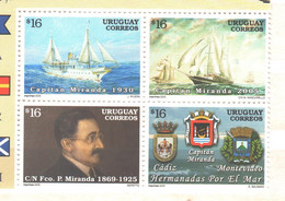 Uruguay MNH 2005 Capitan Miranda - Uruguay