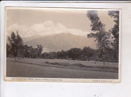 CPA PHOTO SANTIAGO DE CHILE, PRINCE OF WALES COUNTRY CLUB - Chili