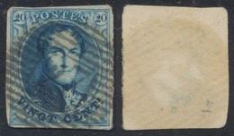 "Médaillon - N°7 Margé Obl P27 ""Chimay"". TB - 1851-1857 Medaillons (6/8)"