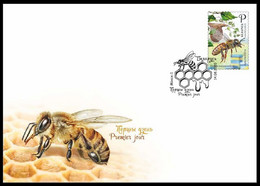 Belarus 2020 FDC- Beekeeping Honey Bee Ape Honigbiene Bij Biene Abeille Bielorussia/Biélorussie/Wit-Rusland/Weißrussland - Honeybees