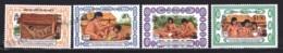 British Virgin Islands - Iles Vierges 1989 Yvert 622-25, Culture. Pre-Columbian Societies. America Discovery - MNH - British Virgin Islands