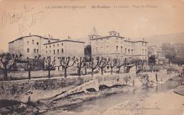 Drôme : SAINT VALLIER Sur RHÔNE : La Galaure - Place Des Platanes : - Otros Municipios
