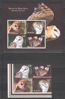 UU409 2012 NIUAFO'OU FAUNA BIRDS OWLS 1KB+1SET !!! MICHEL 220 EURO !!! 10% OFF !!! MNH - Eulenvögel
