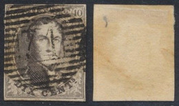 """Médaillon - N°10A Margé Obl P71 """"Lessines"""". Superbe Centrage ! COBA : 15 - 1858-1862 Medaillons (9/12)"""