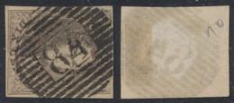 """Médaillon - N°10A Bien Margé Obl P84 """"Mouscron"""". Superbe ! - 1858-1862 Medallones (9/12)"""