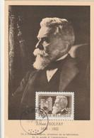 Carte Maximum -  Ernest Solvay - Inventeur De La Fabrication De La Soude à L'ammoniaque - 1951-1960