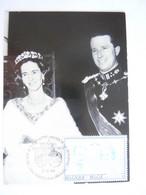 België Belgium 1983 Maximum Zilveren Jubileum Anniversaire Mariage Koning Boudewijn Roi Baudouin Fabiola Reine Cob 2197 - 1981-1990