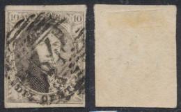 """Médaillon - N°10A Margé Obl P34 """"Dison"""". TB - 1858-1862 Medaillons (9/12)"""