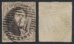 """Médaillon - N°10A Margé Obl P41 """"Florenville"""". TB / COBA : 15 - 1858-1862 Medaillons (9/12)"""
