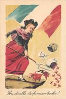Guerre - 40-45 - Alsace - Au Diable Le Fumier Boche - Croix Gammée - Pot De Chambre - Guerra 1939-45