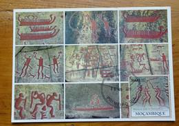Carte Maximum Card  Bohuslan Tanum Peinture Rupestre  Rock Painting 2010 - Prehistory