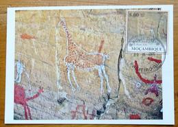 Carte Maximum Card Lybie Libia  Peinture Rupestre  Rock Painting 2010 - Prehistory
