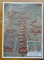 Carte Maximum Card Tanum Suède Sweden   Peinture Rupestre  Rock Painting 2010 - Prehistory