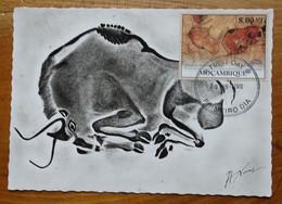 Carte Maximum Card Altamira Spain Espagne Relevé Breuil    Peinture Rupestre  Rock Painting 2010 - Prehistory