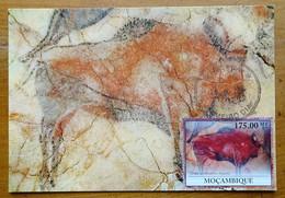 Carte Maximum Card Altamira Spain Espagne Bison   Peinture Rupestre  Rock Painting 2010 - Prehistory