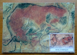 Carte Maximum Card Altamira Spain Espagne Bison Repos  Couché  Peinture Rupestre  Rock Painting 2010 - Prehistory