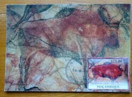 Carte Maximum Card Altamira Spain Espagne Bison Grand Peinture Rupestre  Rock Painting 2010 - Prehistory