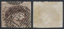"Médaillon - N°10 Quasi Margé Obl P129 ""Waremme"". Superbe ! COBA : 12 - 1858-1862 Medaillons (9/12)"