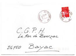 GIRONDE - Dépt N° 33 = CENAC AP 1999 = AGENCE POSTALE = CACHET A9 - Bolli Manuali