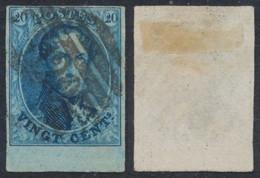 "Médaillon - N°11 Margé + Grand BDF Obl P120 ""Tournai"" - 1858-1862 Medallions (9/12)"