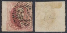 "Médaillon - N°8 Margé + BDF Obl P66 ""Jodoigne"". TB - 1851-1857 Medaillons (6/8)"