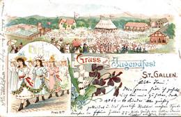78099- Gruß Vom Jugendfest St. Gallen 1899 - SG St. Gallen