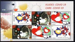 Kosovo 2020 COVID 19 Block MNH - Kosovo