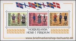 Färöer 1983, Mi. Bl. 1 ** - Féroé (Iles)