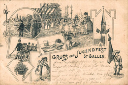 78100- Gruß Vom Jugendfest St. Gallen 1899 - SG St. Gallen