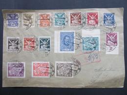 BRIEF Karlsbad Judaika Sionisten Sionismus 1921 /////   D*46731 - Czechoslovakia