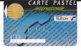 France Carte Pastel Internationale Phonecard Télécarte Telefoonkaarten Telefonkarten Telefoniche Tarjeta Telefónica - Pastel Cards