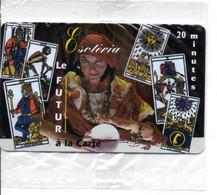 ésotérisme ésotéria LE FUTUR  Jeu De Cartes Playing Games Jeu -carte Prépayée France LUXE (D 751) - Frankreich